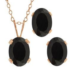 1.46 Ct Oval Black Onyx Gemstone Gold Plated Silver Pendant Earrings Set >>> To view further for this item, visit the image link. (As an Amazon Associate I earn from qualifying purchases) Pendant Earrings, Stone Earrings, Gold Necklace, Earring Backs, Earring Set, Sterling Silver Pendants, 925 Silver, Buy Gems, Tear