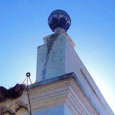 Detalhe da balaustrada da Igreja Nossa Senhora da Penha na Freguesia