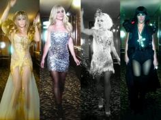 #Britney #FantasyTwist what do u think about her 4 looks? #Amazing #Gorgeous