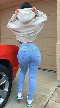 Jean Outfits, Casual Outfits, Cute Outfits, Sexy Jeans, Skinny Jeans, Women's Jeans, Curvy Jeans, Black Jeans, Mom Jeans Outfit