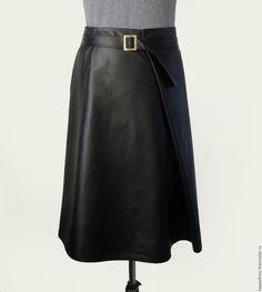 black leather skirt Купить Черная кожаная юбка - черный, купить кожаную юбку, где купить кожаную юбку