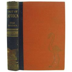 Out of Africa Book by Isak Dinesen ($189) ❤ liked on Polyvore featuring books
