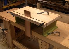 In Roubo's Slippers , I fine-tuned the height of my workbench for planing. However, many other operations benefit from a higher work surface...