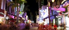 Universal CityWalk Hollywood is a Three-Block Entertainment, Dining and Shopping Promenade