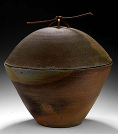 Rob Barnard - Timberville VA (woodfired in an Anagama style kiln)