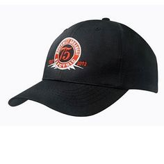 41a18fdf83d38 Golf Clothing   Caps   Visors   6 Panel Budget Fabric Cap with Embroidery    Corporate Golf Gifts