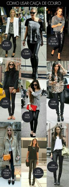 784a31b78d 40 Best leather pants outfit images