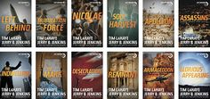 """Left Behind Series... started readign 12/18/11 and am on #7 """"The Indwelling""""... can't put them down."""