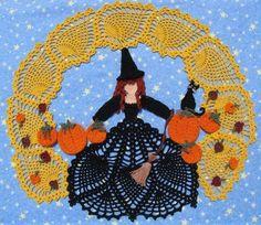 CROCHET - HALLOWEEN - Doilies Crochet Pattern, Free Crochet Doilies Patterns, Doily Patterns