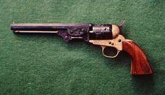 brass framed Colt.