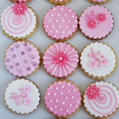 galletascirculosfloreadosrosados