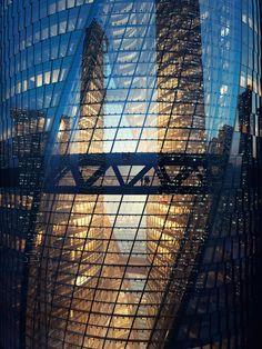 Detail. Leeza SOHO skyscraper by Zaha Hadid Architects. Photography © MIR