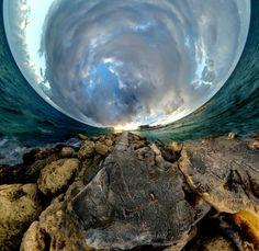 Girando el mundo 360°: sorprendentes fotografías de
