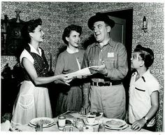 The Life of Riley ... TV show in the 50s. One of the first series I watched. My dad and I watched every week.