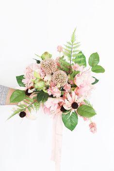 Allium Faux Flower Stem in Mauve Pink - Modern Peony Flower Arrangements, Allium Flowers, Silk Flower Bouquets, Silk Flowers, Bridal Bouquet Fall, Fall Wedding Bouquets, Fall Wedding Flowers, Bridal Bouquets, Unique Flowers