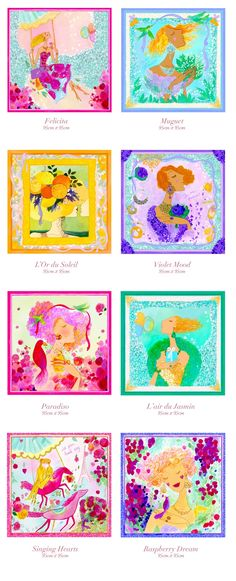 Daria DiCieli - Dreams on Silk Scarf Collection by Daria Jabenko — Kickstarter