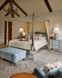 Private Residence Pebble Beach - mediterranean - bedroom - other metro - Andrea Bartholick Pace Interior Design