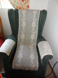 Funda protectora para el sillón.