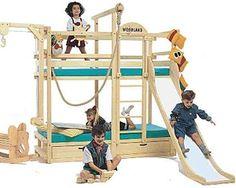 Winnipeg kids loft bed with slide