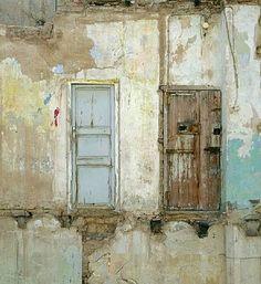 weathered walls