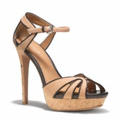 """Coach - DAYLAN HEEL ~ $228, $169 on sale. Nice, but only for the """"well heeled""""."""