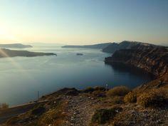 Land and Sea. Santorini, Greece