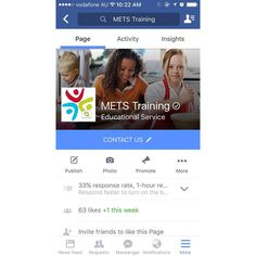 Follow us on Facebook!  Change it from Like to Liked 👍🏻 #Mets #Facebook #training #yourfuture #like #tipsandtricks #instagood #instagram #happy #love #earlychildhood #disability