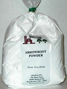 Great value on arrowroot powder for making your own non-toxic deodorant, cosmetics, and dry shampoo.  click image for info on where to buy at a great price