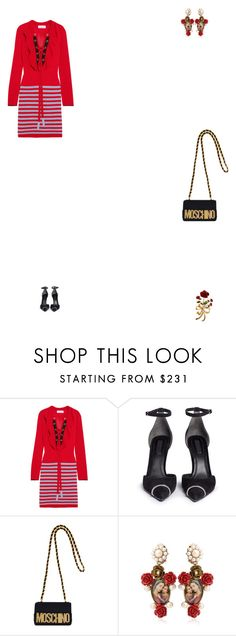 """Grace"" by zoechengrace ❤ liked on Polyvore featuring Sonia Rykiel, Alexander Wang, Moschino and Dolce&Gabbana"