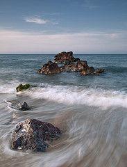 Playa de Nares, Puerto de Mazarrón.
