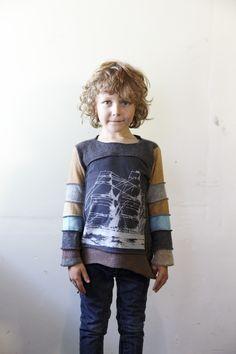 susan harris design, I don't care if it's a kid's garment, I like it!