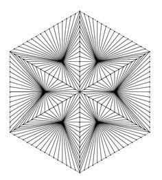 geometric art, arte geometrico, line drawing , geometric drawing 3d Art Drawing, Geometric Drawing, Geometric Art, Illusion Drawings, Illusion Art, Geometry Pattern, Pattern Art, Album Vintage, Arte Linear