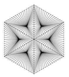 geometric art, arte geometrico, line drawing , geometric drawing Illusion Kunst, Illusion Drawings, Illusion Art, 3d Art Drawing, Geometric Drawing, Geometric Shapes, Geometry Pattern, Pattern Art, Album Vintage