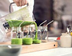 Forkæl dig selv og dine gæster med en grøn smoothie, der er perfekt som hurtig og lækker appetizer.