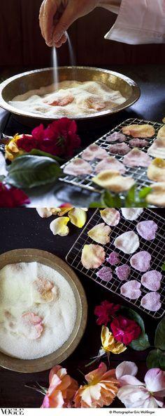 Comment faire un bon usage des pétales de roses.