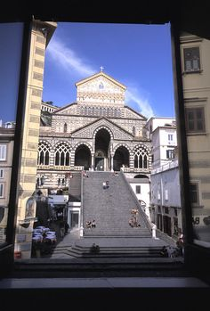 ✮ View from Hotel Aubergo of Saint Andrea in Amalfi, Italy