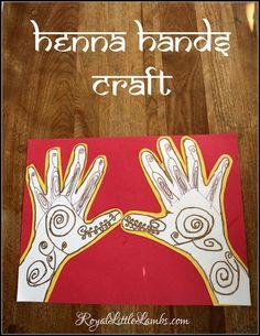 Henna Hands Craft fo