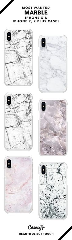 Sleekest Marble & Minimalist Phone Case Collection - iPhone X/7/7+ AND MORE! Shop them here ☝️☝️☝️ BEAUTIFUL BUT TOUGH ✨  - Marble, Minimal, White, Monochrome, Design, Art, Popular, Patterns, Black and White