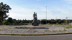 Rotonda del descorchador (Santa Olalla del Cala)