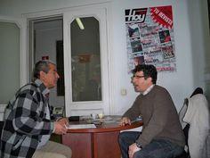 Entrevista con Periodista de Marruecos.
