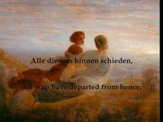 """Schubert - """"Litanei auf das Fest Aller Seelen"""""""