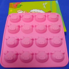 Pig Shape Silicone Cake Cookie Muffin Baking Tool Mould Random Diy home ^^ See this great image @ : Baking Accessories