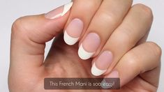 Street DIY French Manicure Video application directions for Color Street French Manicure.Video application directions for Color Street French Manicure. French Nails, French Nail Polish, Manicure Colors, Manicure And Pedicure, Nail Colors, Sinful Colors, Nail Art Designs, Square Nail Designs, Nails Design