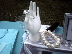 Breakfast at Tiffany's Baby/ Bridal Shower by mommymogul on Etsy, $175.00