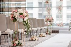 Stephanie and Teddy's gorgeous wedding captured by AGI Studio is a perfect blend of delicate and refined details with a dash of modern flair! Magical Wedding, Chic Wedding, Wedding Ceremony, Reception, Bridal Decorations, Table Decorations, Four Seasons Hotel, Dance The Night Away, City Chic