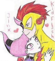 flash and jinx kiss - Cerca con Google
