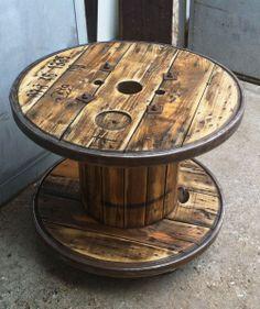 Kabeltrommel Tisch - Tische - Möbel / Einrichtung
