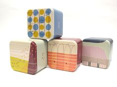 Spring 2014 #Fossil Women's Tins. Inspired by west coast jazz of the 50s and 60s.