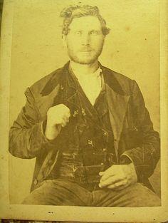 Antique Civil War Soldier CDV Carte de Visite Physician CDV Photo C1860s