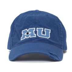 Disney Park M U Monsters University Adult Size Baseball Hat Cap NEW